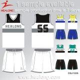 Формы трикотажных изделий баскетбола Healong выполненные на заказ сублимированные
