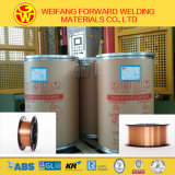 Diametro: collegare di saldatura di 1.2mm 250kg/Drum Er70s-6 (collegare di MIG) dal filo di acciaio a basso tenore di carbonio Rod