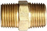 Capezzolo Hex d'ottone del tubo maschio del NPT