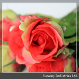 Wedding DecorationのためのSunwing Real Touch Red ArtificialローズFlowers