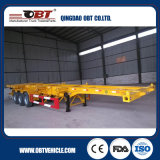 두 배 Fuwa Axles 40FT Skeletal Trailer Frame