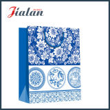 Custom Made Chinese Flowers Style Hand Shopping Gift Paper Bag