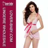레이스와 Sheer Women Teddy Lingerie (L81161-1)