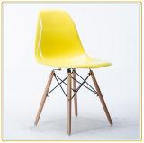 Cadeiras plásticas de venda quentes do restaurante com assento de Greeen