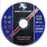 금속 강철 115X1.6X22.23를 위한 얇은 절단 바퀴