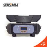 광속 LED 이동하는 헤드 DJ 점화 4PCS 10W 백색 LED 램프 DMX LED 효력 빛 디스코 빛