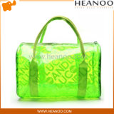 Trend Translucent PVC Transparente Plastic Clutch Purse Bag Bolsa de beleza
