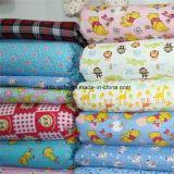 flanella stampata 42*44 del tessuto 20s*10s 40*42 32*12 della flanella 100%Cotton