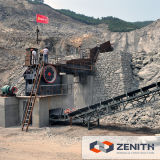 50-650tphの採鉱設備の金の鉱石粉砕機