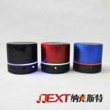 MiniRound Wireless Bluetooth Speaker mit LED Flashing Light
