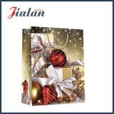 2016クリスマスのギフトの光沢のある薄板にされたアートペーパーのギフト袋をカスタマイズしなさい