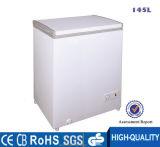 Congelador aberto da congelação rápida do congelador do gelado da mini única parte superior da porta