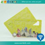 Impression compensée en PVC Carte-clés pour bagages