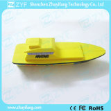 Kundenspezifisches Bewegungsboots-u. -yacht-Form USB-Blinken-Laufwerk (ZYF1096)