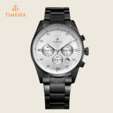 Chronograph-Luxuxstahlmann überwacht analoge Quarz-Armbanduhr 72182
