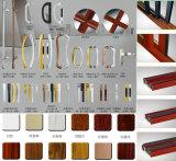 Portelli scorrevoli dell'alluminio di vetratura doppia di spessore di Ouya 2.0mm