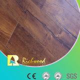 Gravé en relief dans le plancher (EIR) stratifié par HDF d'enduit de cire du registre 15mm