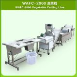 Cutter e Bubble multifunzionali Washer di Fruit Vegetable Processing Line per Factory
