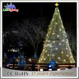 Aufsatz-riesige im Freienwerbung beleuchtete im Freien hohe Metallweihnachtsbäume