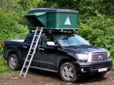 화포 Fabric와 Single Layers Hard Shell Car Roof Tent
