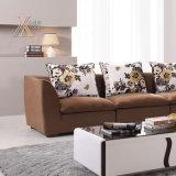 Sofa de tissu avec le coussin de portée de latex (9099B)