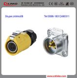 中国Industrial 20A XLR Female 3ポーランド人Power Connector