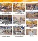 Profils en aluminium d'aluminium d'extrusion de rail de rideau en fabricant