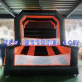 商業PVC 0.55mm膨脹可能なバスケットボールたがは大人のためのおもちゃを立てる