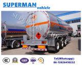 Aluminiumtanker des öl-45-55cbm/des Treibstoffs mit 1-6compartments