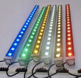 Lámpara al aire libre cambiante de la barra linear de la etapa de la luz AC110V de la colada de la pared de la arandela del color del LED 90W Multicolors RGB