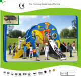 Kaiqi Small PET Plastic Cartoon Slide Set für Childrens Outdoor Playground (KQ21056A)