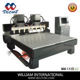 Multi-Heads Flat Woodworking máquinas de gravura de máquinas CNC