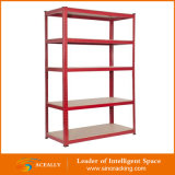 Rivet Shelving Racks avec Wood Board pour Household Shelf