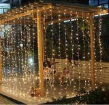 Luz da cortina do Natal do diodo emissor de luz do RGB da alta qualidade para a decoração do feriado