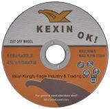 115X1 di rinforzo tagliando disco per gli acciai inossidabili En12413