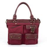Le nylon classique des bonnes de QQ femmes de vente d'ours et le sac à main d'unité centrale (QV131116-B)