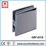 Clip en verre en laiton de modèles de porte chaude de douche (GBF-831S)