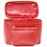 Unité centrale rouge Toiletry Wash Cosmetic Makeup Bag pour Travel