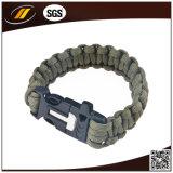 Großhandelsim freienüberlebens-Armband mit Feuer-Starter-Faltenbildung (HJ6213)