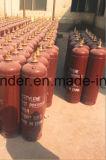 preço do cilindro de gás do acetileno 2-80L com oxigênio para a soldadura industrial