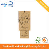Nouvelle étiquette du fabriquant imprimée de papier d'emballage de la conception 2016 (QYZ037)