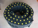 CNC van de hoge snelheid Ketens van de Belemmering van de Sporen van de Draad van de Kabel van het Type van Brug van de Pijp van de Ketting van de Kabel de Flexibele Plastic Elektrische