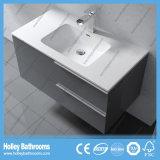 Комплекты ванной комнаты MDF европейского типа популярные самомоднейшие с встречным тазиком (BF127N)