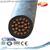 медный изолированный PVC проводника 450/750V~0.6/1kv и кабель системы управления стальной ленты оболочки бронированный