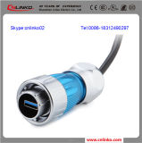 Preiswerter Goods From China IP67 9pin USB Connector/USB3.0 Type ein Connector/USB Connector Receptacle