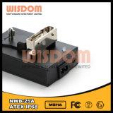 Schwarze nachladbare LED-Hauptlampen-Aufladeeinheit
