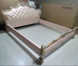 E305 Royal Design Furniture Lit en cuir italien