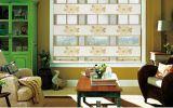 屋内装飾的なWindowsファブリック蜜蜂の巣のカーテンのブラインド