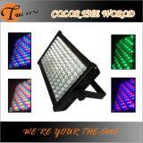 5/8 luz de inundación al aire libre del color LED de la ciudad del canal del CH