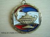 La corsa su ordinazione assegna la medaglia del metallo con il nastro (M-81)